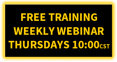 Free Training Weekly Webinar